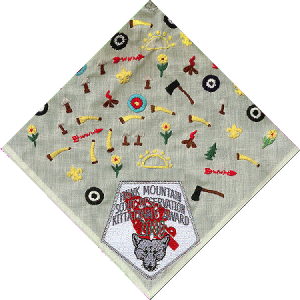 Sample Kittatinny Neckerchief