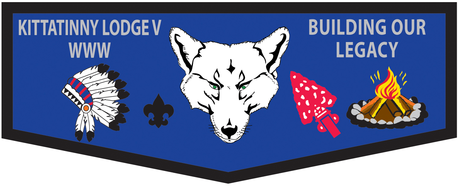 New Ceremonies fundraiser lodge flap available for pre-order