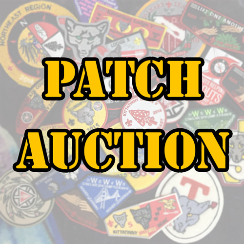 Patch Auction at the Lodge Banquet