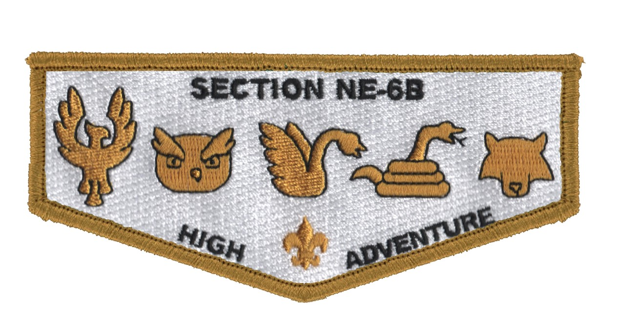 Section NE-6B OA High Adventure Scholarship Fund-raiser Flaps On Sale